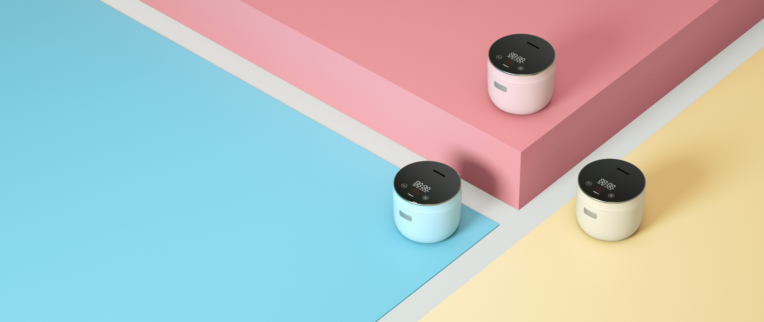 TOKIT Mini Smart Rice Cooker